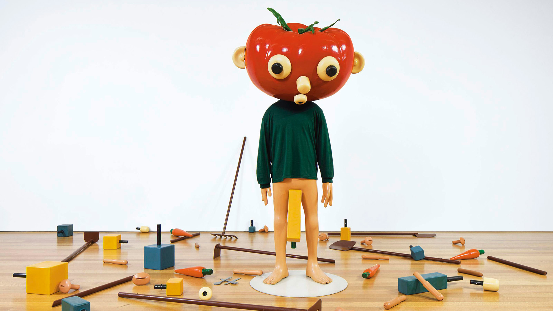 """Tomato Head (Green)"", Paul McCarthy, 1994"