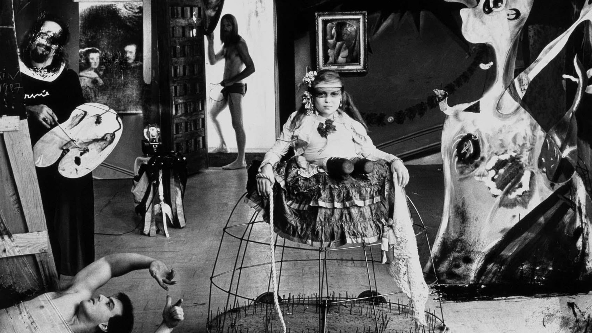 """""""Las Meninas"""", Joel-Peter Witkin, 1987"""